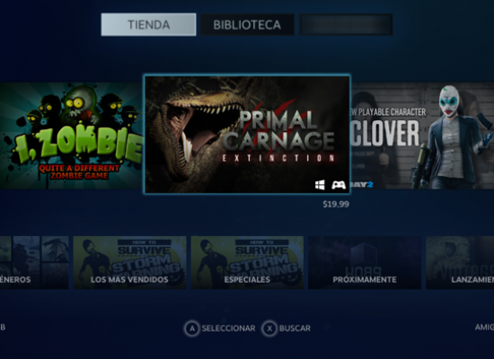 Steam implementa FPS en su cliente