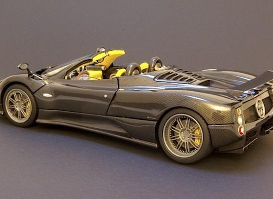 Un Pagani Zonda F Roadster a escala hecho a mano, que te va a asombrar