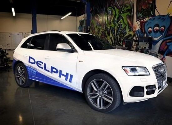 El coche autónomo de Delphi se quiere hacer un «costa a costa» en los Estados Unidos