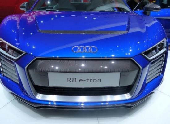 Audi R8 e-tron, el super deportivo con motor eléctrico
