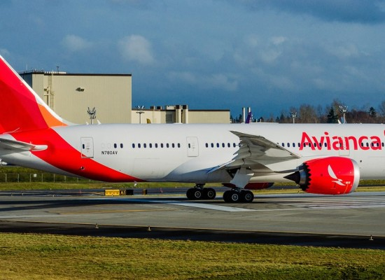 Avianca recibe su primer Boeing 787-8 Dreamliner