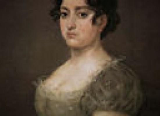La mujer del abanico de Goya