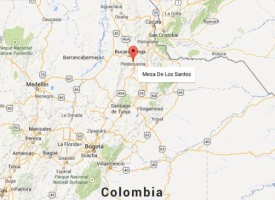 Este martes gran parte de Colombia  fue sacudida por un temblor