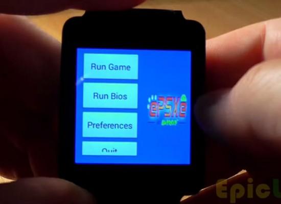 Correr juegos de PlayStation en Android  Wear ya es posible.