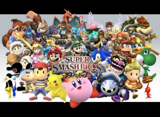 ¿Qué personajes quieres ver en Super Smash Bros.? Tú eliges