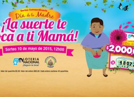 Sorteo Extraordinario del Día de las Madres y Gánate 2 millones de dólares y miles de premios más