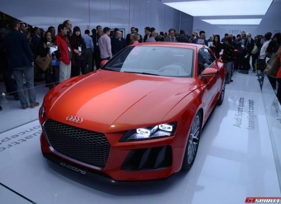 Lanzamiento del Audi Sport Quattro Laserlight Concept