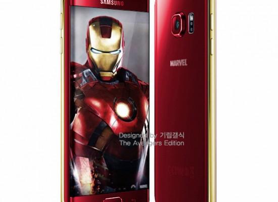 """Samsung se alía con Marvel para crear el Galaxy S6 """"Iron Man"""""""