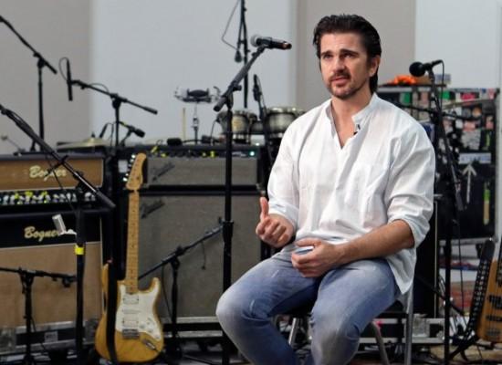 Juanes cantará ante el «Papa revolucionario»