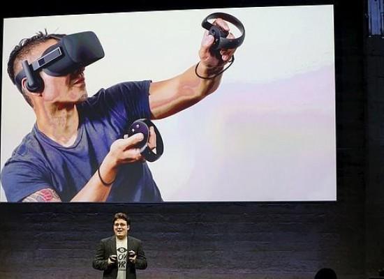 Oculus presenta su casco de realidad virtual oficial para consumidores