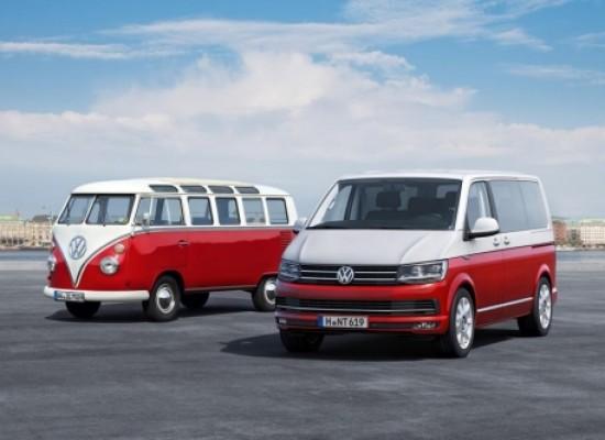Volkswagen renueva la mítica gama T6