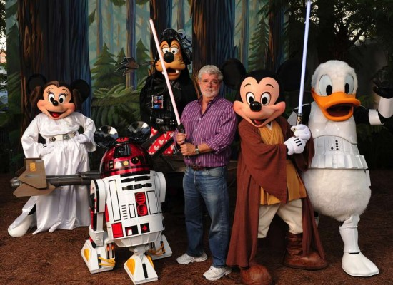 La saga de 'Star Wars' tendrá parques temáticos en Disney