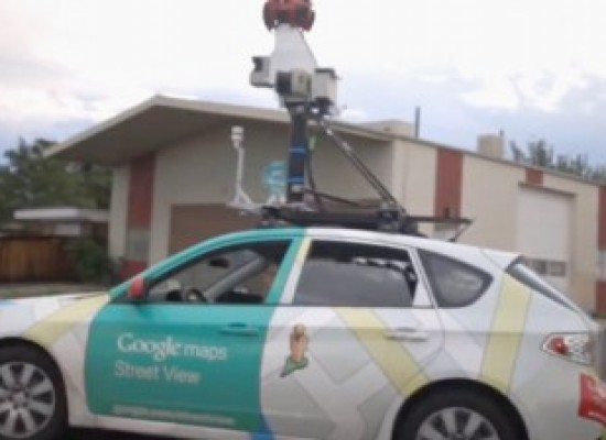 Autos de Google capaces de escanear contaminación