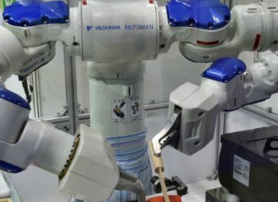 FÁBRICA CAMBIA EL 90% DEL PERSONAL POR ROBOTS