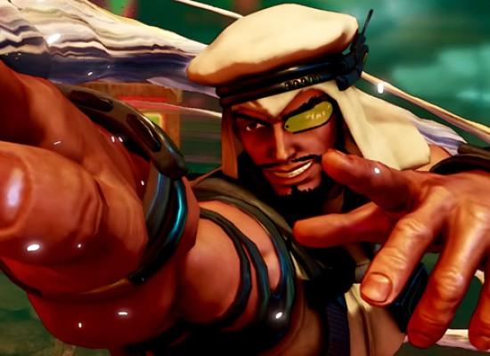 Conoce a Rashid, el nuevo personaje de Street Fighter V
