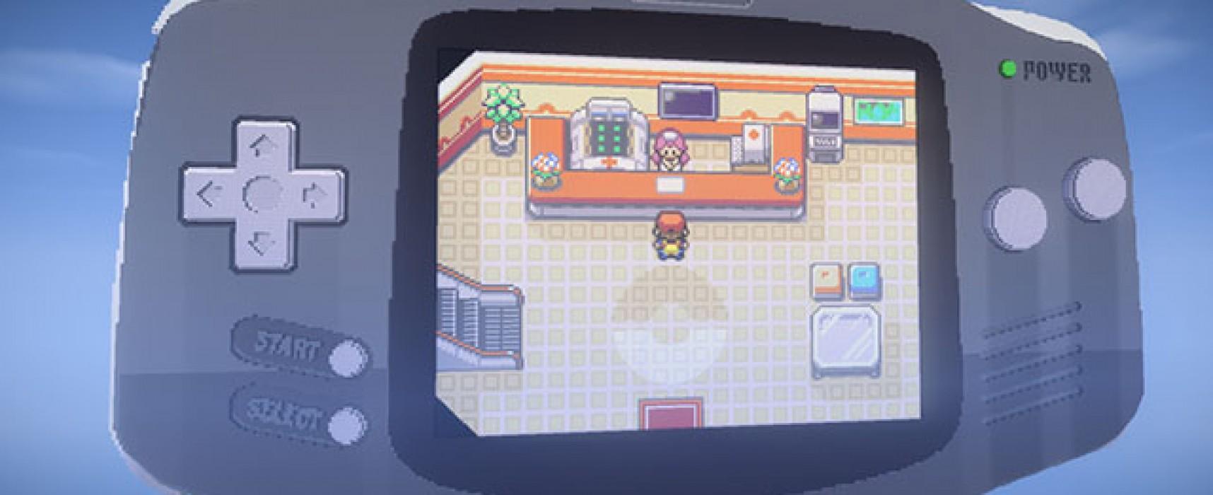 Pokemon rojo fuego combinado con minecraft