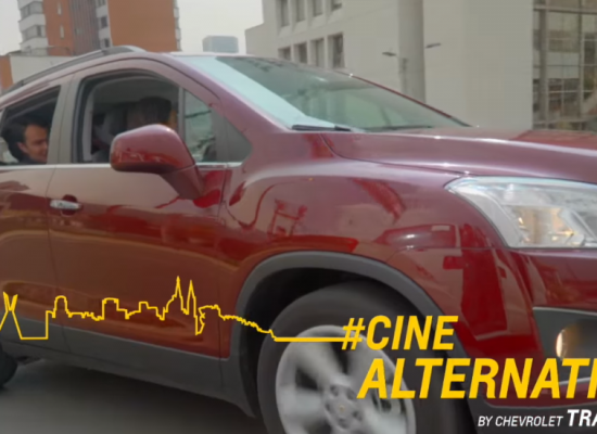 Chevrolet Tracker nos lleva a conocer Cine Tonalá