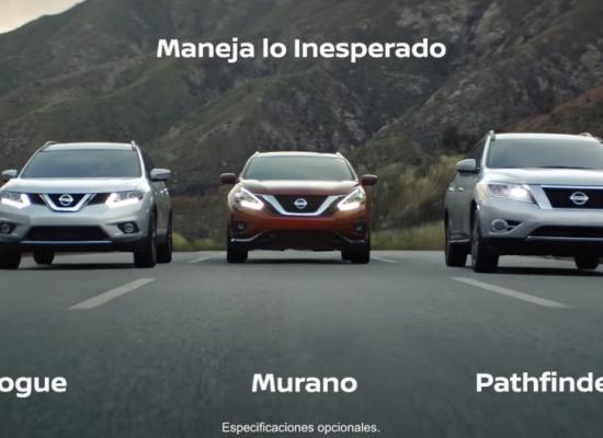 Conoce la versatilidad de Nissan Murano y Maneja lo Inesperado
