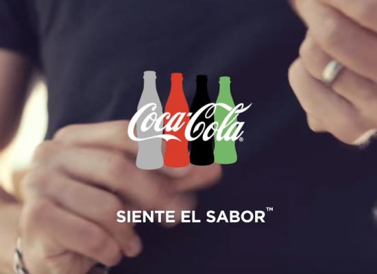 Con Coca-Cola #SienteElSabor de la magia