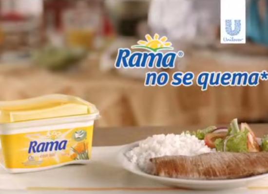 Rama no se quema, atrévete a asar la carne con Rama