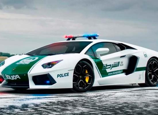 Los Súper-Autos de la Policía de Dubai