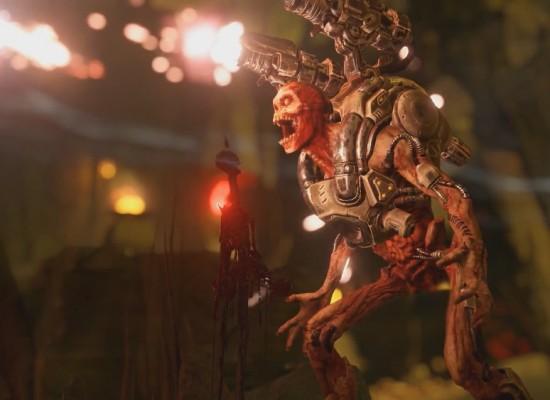 Doom vuelve con muchos monstruos, cohetes y música metal