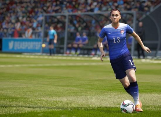 Anuncian FIFA 16 con la introducción de equipos femeninos