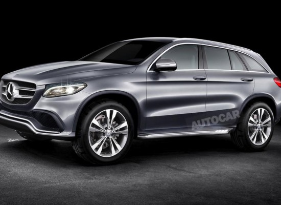 Mercedes GLC, el sustituto del SUV compacto GLK