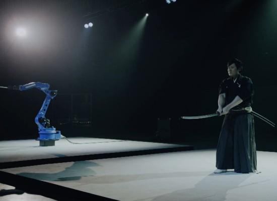 Conoce al robot samurai