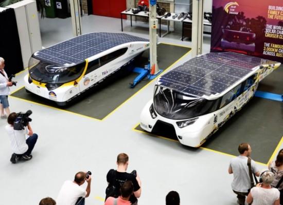 Coches solarares capaces de doblar la energía que necesita