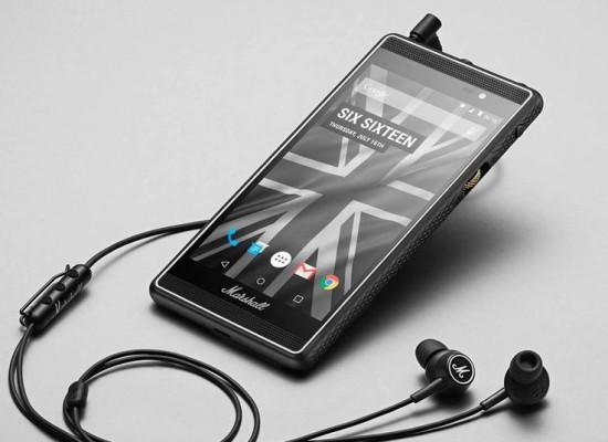 Marshall London, el smartphone para los amantes de la música