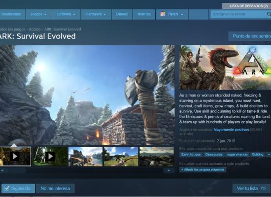 Dinosaurios y Humanos? Ark:Survival Evolved !