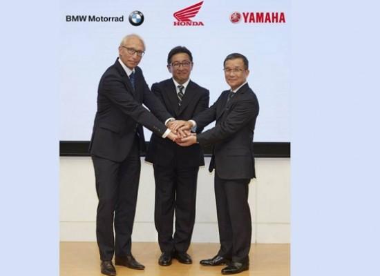 BMW, Honda y Yamaha con un objetivo común.