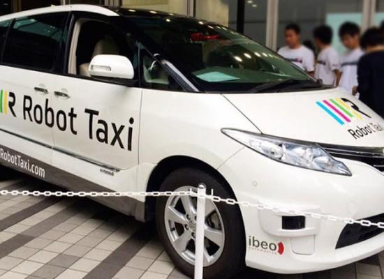 Japón tendrá taxis autónomos en 2016