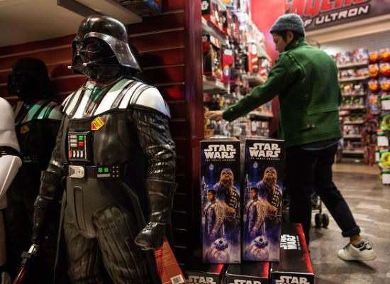 Gran subasta de articulos de Star Wars