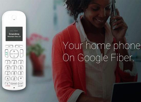 Fiber Phone, la apuesta de Google por la telefonía fija