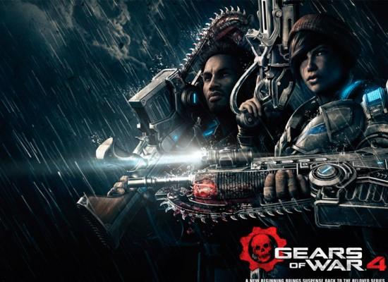 Gears of War 4 estará listo desde el 11 de Octubre