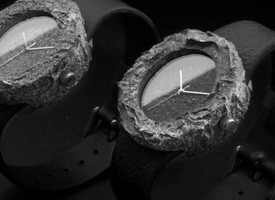 Conoce el Lunar Watch: Reloj hecho con piedras