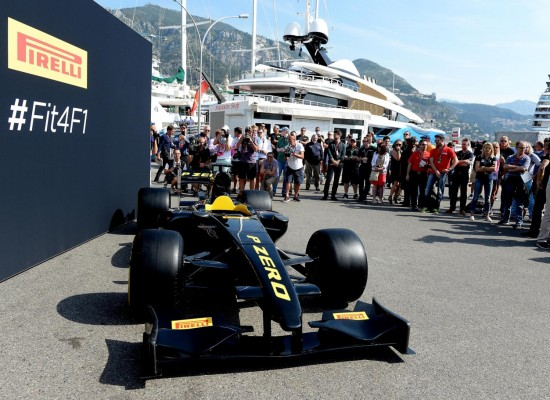 Pirelli presenta los neumáticos de 2017 para una Fórmula 1 más rápida
