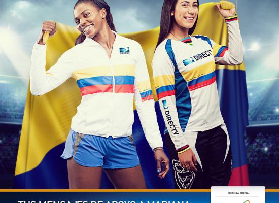 Apoya a Mariana Pajón con tus mensajes en Rio 2016