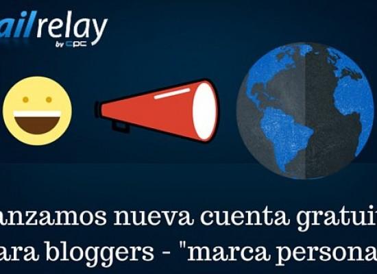 Mailrelay otorga nueva cuenta gratuita para bloggers entre otros beneficios