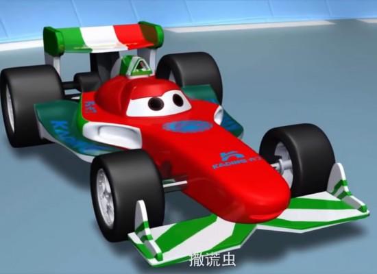 Disney denuncia a compañías chinas por el plagio de las Cars