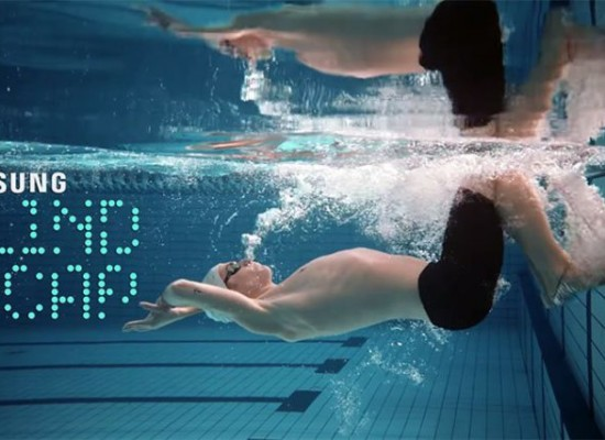 Samsung nos trae una gorra para nadadores con ceguera