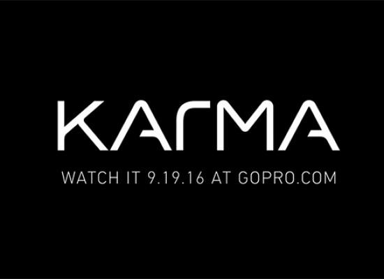 GOPRO KARMA, YA TIENE FECHA DE PRESENTACIÓN