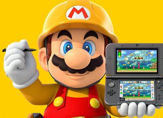Super Mario Maker llegará a Nintendo 3DS