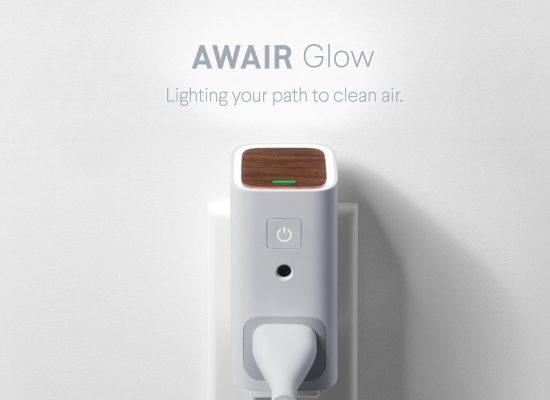 Un dispositivo que mide la calidad del aire en nuestra casa