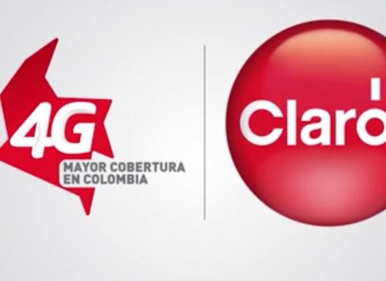 Claro con mayor cobertura 4G en Colombia