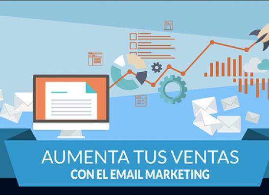 Con el Email Marketing podemos incrementar las ventas de nuestro negocio